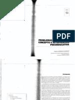 Gonzales, E (1995), Problemas de conducta -- concepto e intervención psicoeducativa en Necesidades educativas especiales, Intervención psicoeducativa, Madrid, CCS,