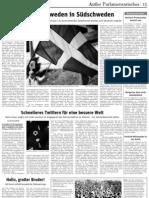 """Rezension von «Soziale Bewegungen und Social Media» in """"Neues Deutschland"""" am 30.11.2011"""