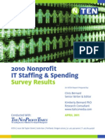 2010 Nonprofit IT Staffing and Spending Report