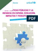 Las Políticas Públicas y la Infancia en España. Evolución, impactos y percepciones