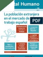 La población extranjera en el mercado de trabajo espanol