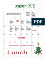 Dec. menu