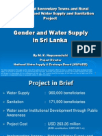 Gender and Water Supply in Sri Lanka