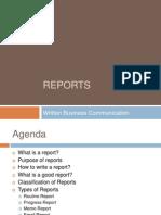 Wbc Reports