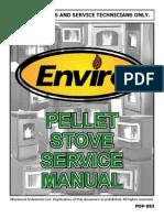 C-12145 Instruction PELLET Service Manual