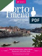 Porto Menu