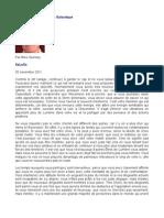 Message de La Fédération Galactique - Mike Quinsey - SaLuSa - 30 novembre  2011