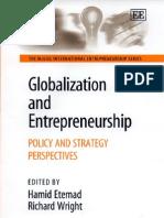 Globalization and Entrepreneurship