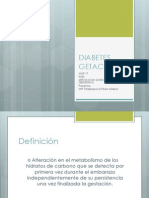 Diabetes Getacional
