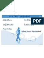Self Twist Spinning