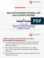 Reactive Power Control