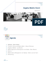 Cegeka Mobile Event