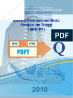 Buku Panduan SPM-PT
