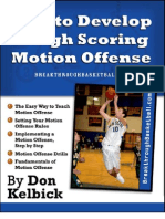 Motion Basketball Offense Sample