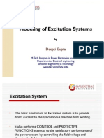 Modeling of Excitation Systems