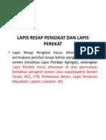 Spesifikasi Teknis Bina Marga 2010