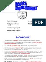 Gcse Pe Course Work Booklet Master Copy 2007