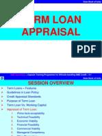 Term Loan Appraisal