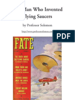 The Man Who Invented Flying Saucers