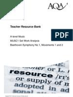AQA Beethoven Analysis