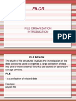 File Organization Midterm