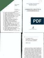 Corrientes Didacticas Contemporaneas Cap.4. El Campo de La Didactica Labusqueda de Una Nueva Agenda