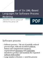 A Comparison of Six UML-Based Languages for Software