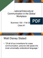 Intercultural Communication Week 1 Power Point