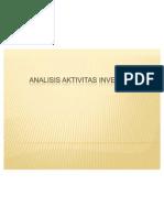 (SAIK) KEL 11 Analisis Aktivitas Investasi