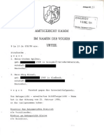 Urteil gegen Jochen Spilker und Hans-Jörg Kinzel