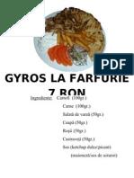 Afis Fast Food Gyros La Farfurie