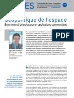 Géopolitique de l'espace - Note d'analyse Géopolitiques n°45