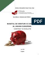 Bugetul de Venituri Si Cheltuieli a Uniunii Europene