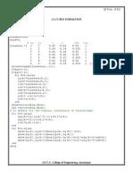 Matlab Programs
