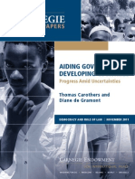 Aiding Governance in Developing Countries