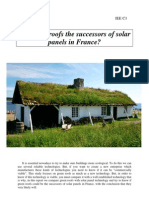 Are Green Roofs the Successors of Solar Panels in France.
