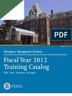 FY2012 EMI Course Catalog