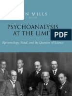 Psychoanalysis at the Limit Epistemology Mind and the Question of Science Jon Mills Editor