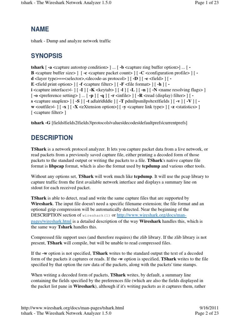 TShark Help   I Pv6   Port (Computer Networking)