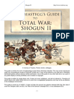 Frog Beast Eggs Guide to Total War Shogun II