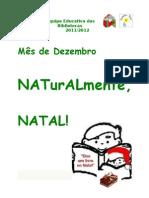 Tematica Natal e Sugestao Leitura