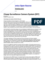 Cheap Surveillance Camera System [DIY]