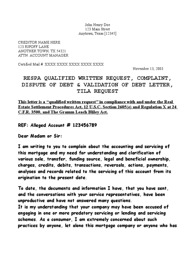 Sample Letter To Creditors To Settle Debt  The Best Letter