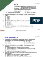 EMC Drill Problems