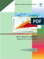 Cenários de Emissões
