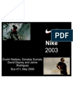 Nike Sample Case Study