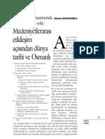 Ahmet Davutoğlu  - Tarih idraki oluşumunda metodolojini rolu