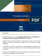 CHIAPAS-ENVIPE 2011