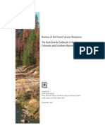 Review of the Forest Service Response