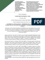 5 Communiaue de Presse Du 4dec2008